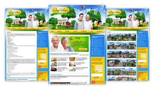 Сайт будинку пристарілих