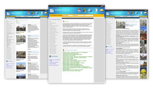 Розробка інтернет каталога Готелів